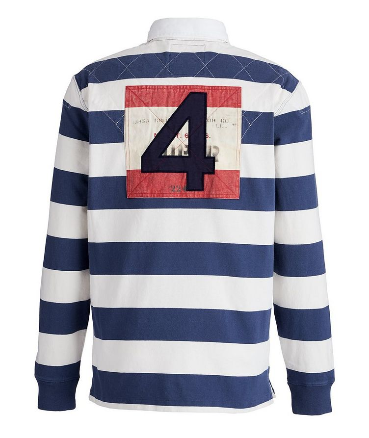 Striped Cotton Rugby Shirt image 1