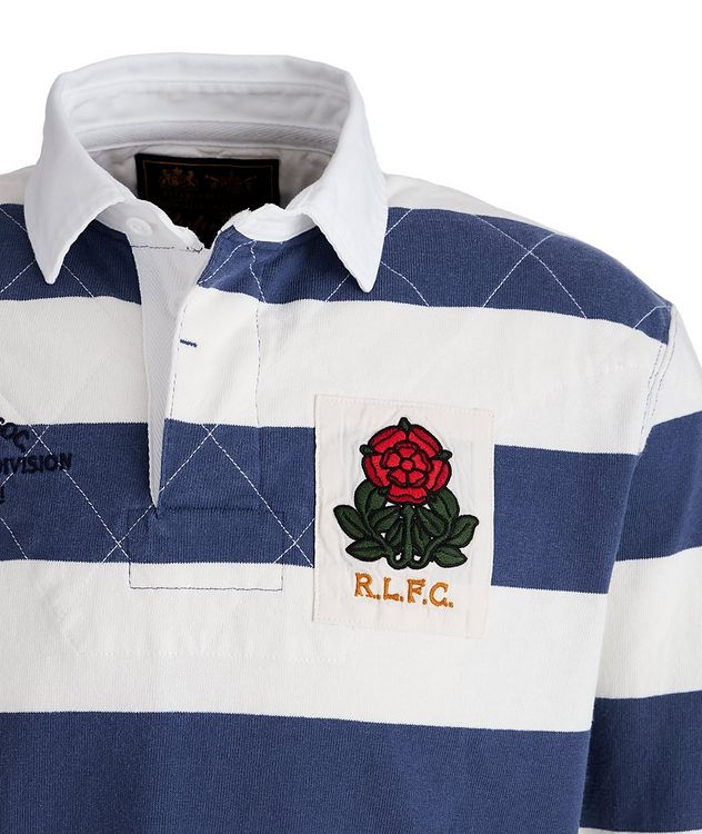 Striped Cotton Rugby Shirt picture 3