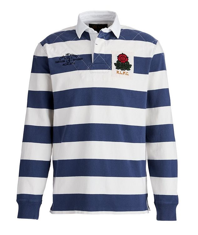 Striped Cotton Rugby Shirt picture 1