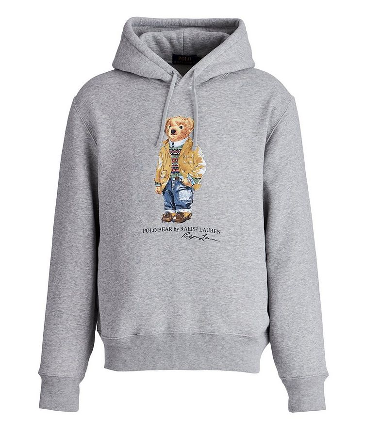 Polo Bear Cotton-Blend Hoodie image 0
