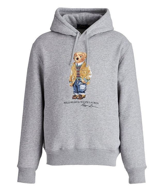 Polo Bear Cotton-Blend Hoodie picture 1
