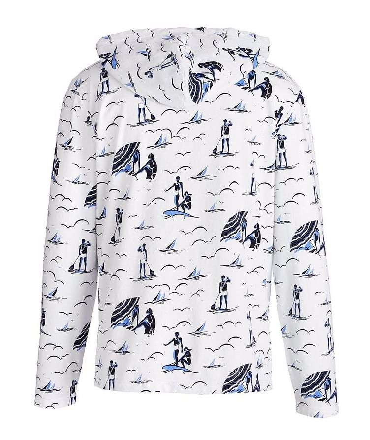 Printed Jersey Cotton Hoodie image 1