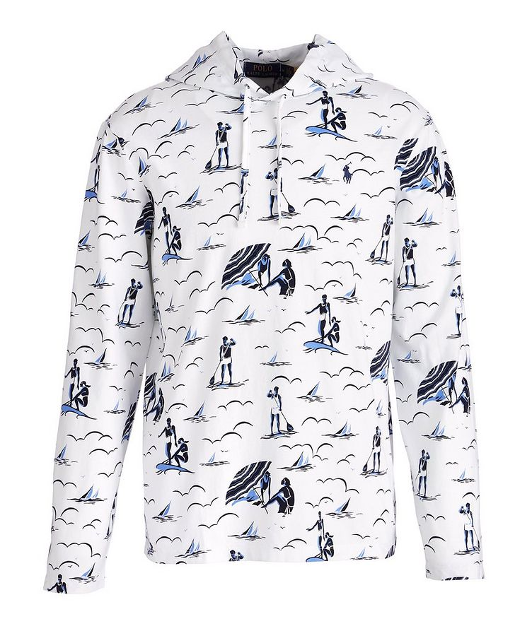 Printed Jersey Cotton Hoodie image 0