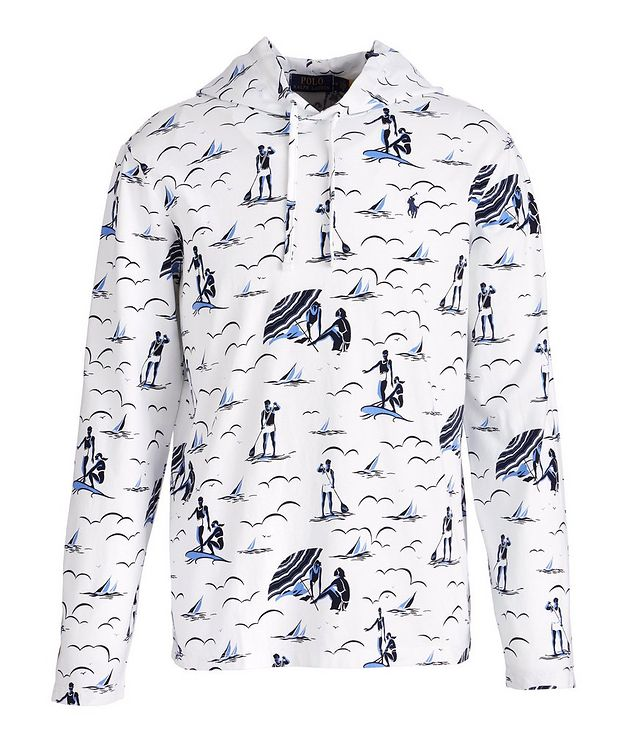 Printed Jersey Cotton Hoodie picture 1