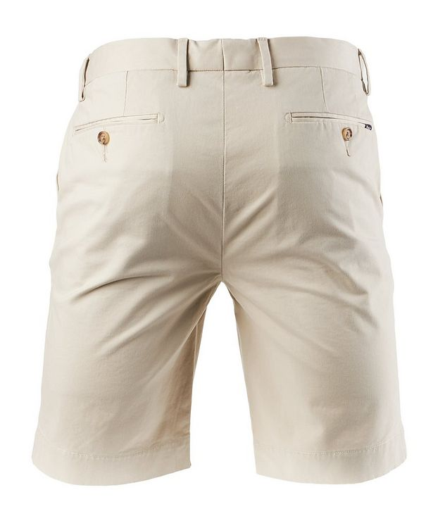 Stretch-Cotton Chino Shorts picture 2