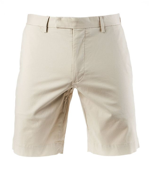 Stretch-Cotton Chino Shorts picture 1