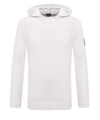 Giorgio Armani Neve Hooded Cashmere Sweater