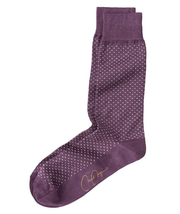 Dotted Stretch-Cotton Socks picture 1