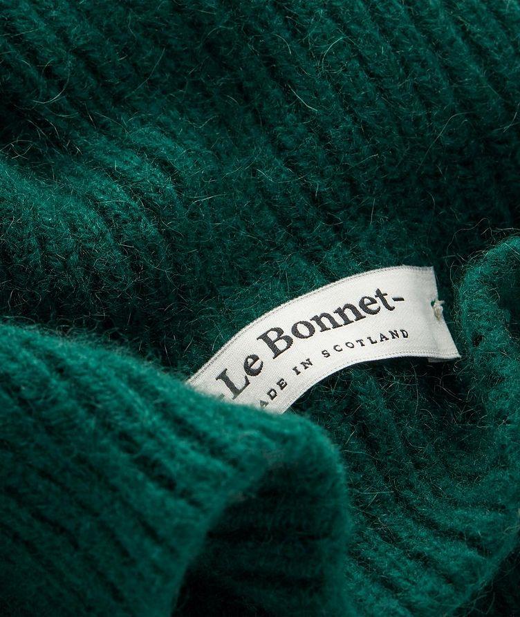 Tuque en laine d'agneau et angora image 1