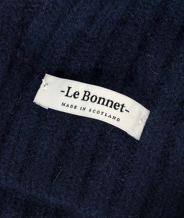 Tuque Le grand bonnet en laine d'agneau et angora image 1