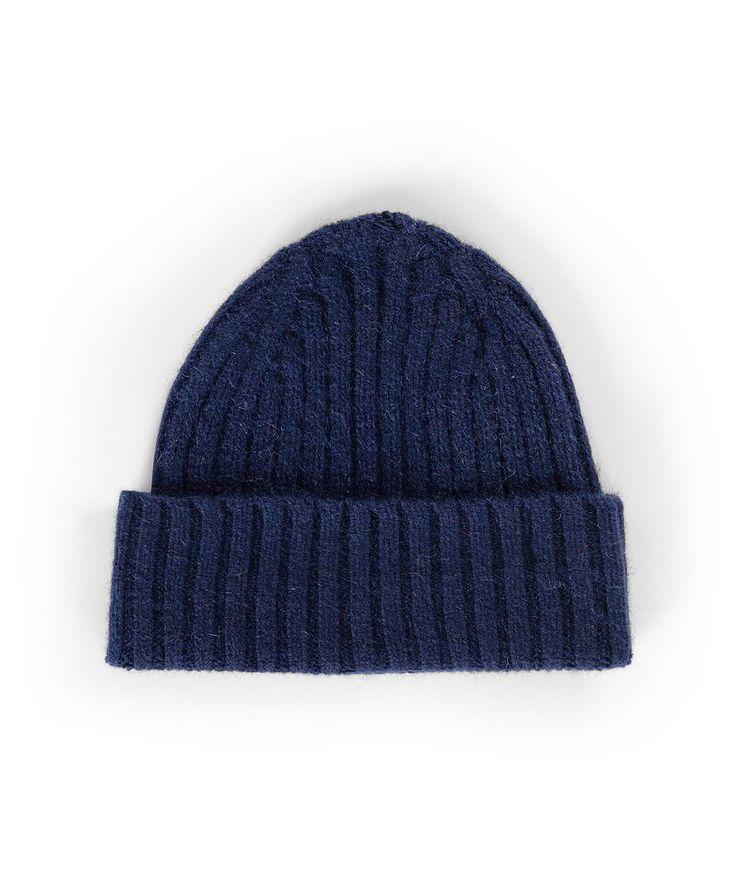 Tuque Le grand bonnet en laine d'agneau et angora image 0