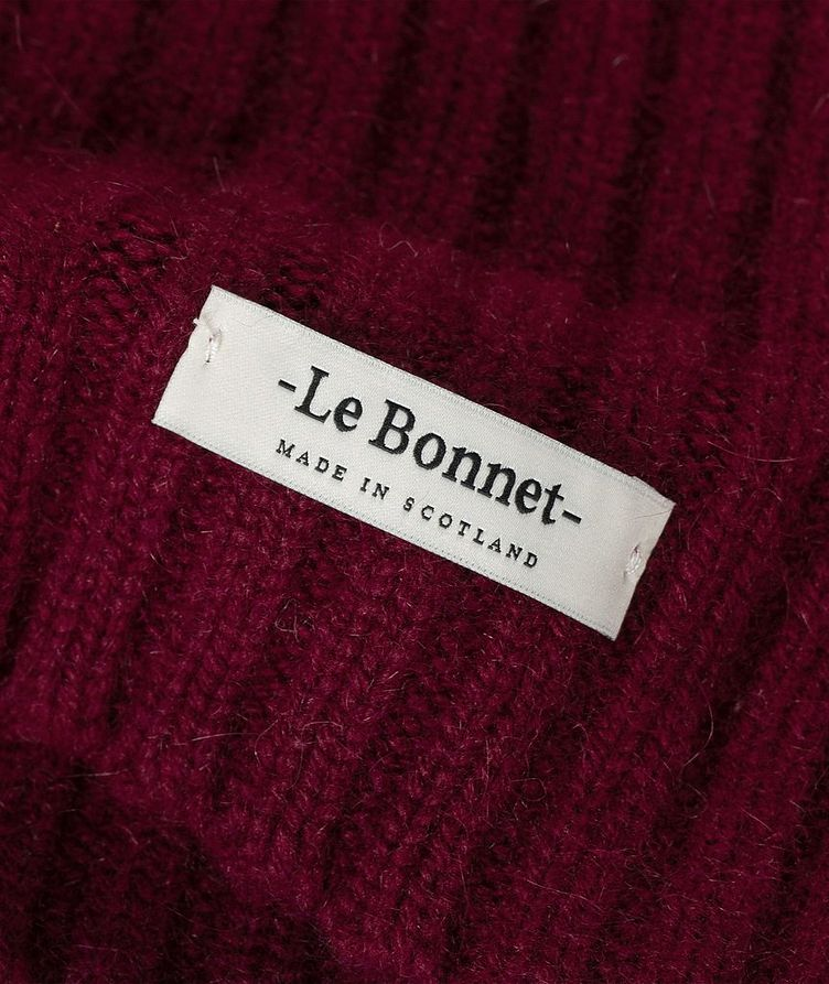 Le Grand Bonnet Lambswool-Angora Toque image 1