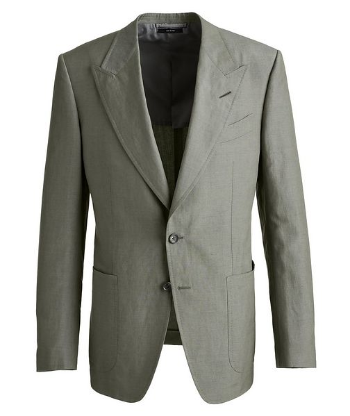 TOM FORD Shelton Silk-Linen Sports Jacket