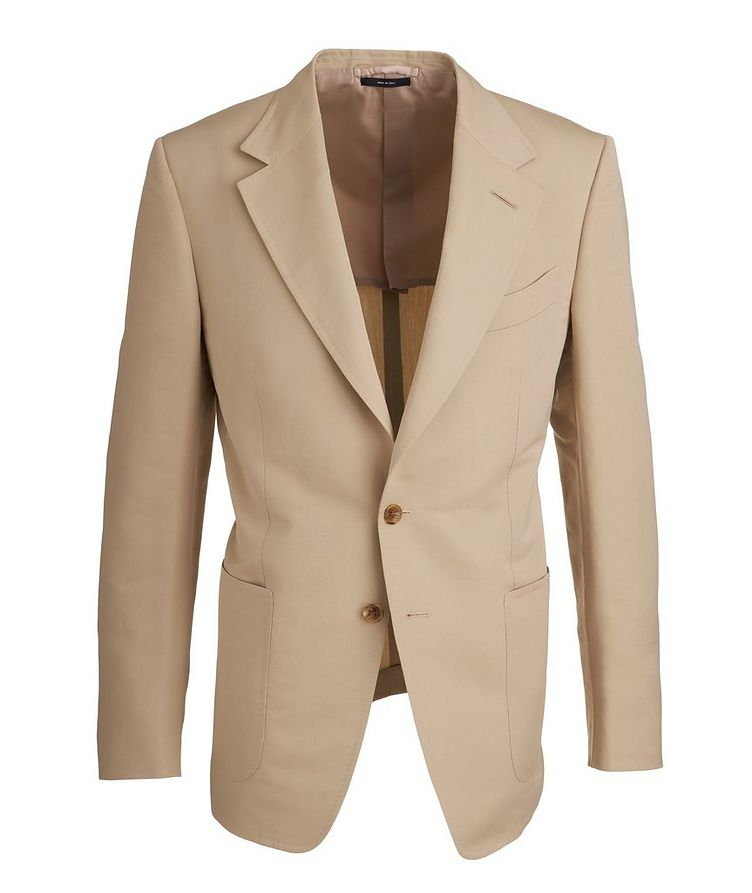 Shelton Cotton-Silk Sports Jacket image 0