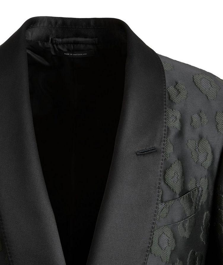 Shelton Leopard Tuxedo Jacket image 2