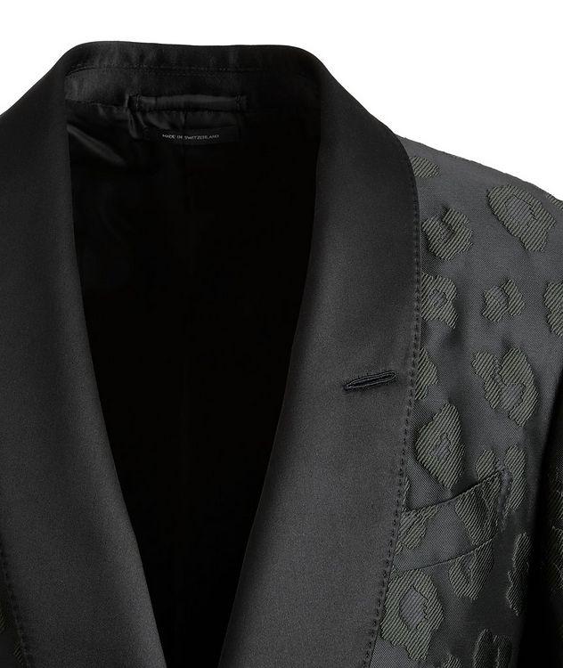Shelton Leopard Tuxedo Jacket picture 3