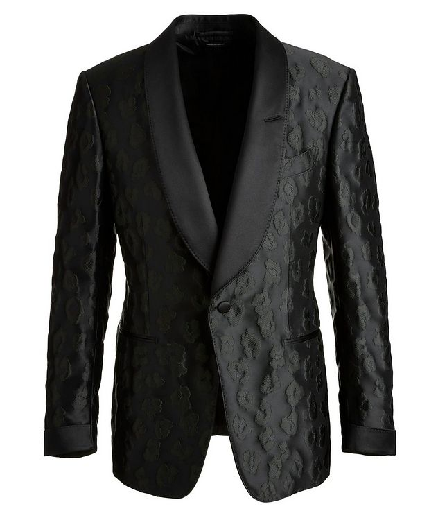 Shelton Leopard Tuxedo Jacket picture 1