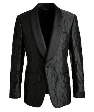 TOM FORD Shelton Leopard Tuxedo Jacket