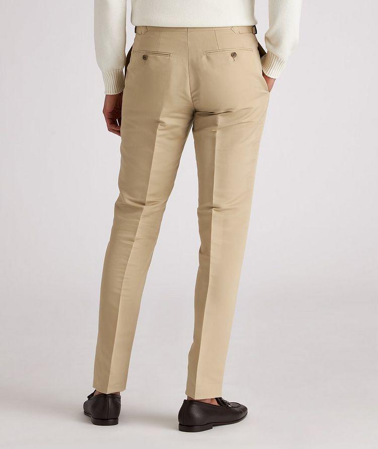 Shelton Slim-Fit Cotton-Silk Dress Pants image 2