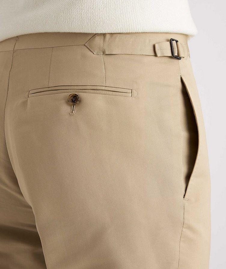 Shelton Slim-Fit Cotton-Silk Dress Pants image 3