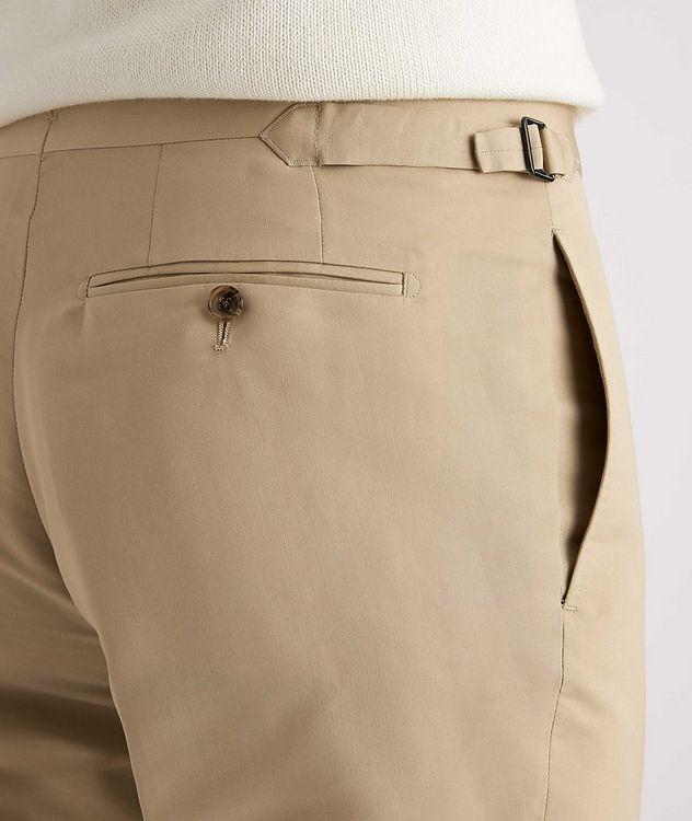 Shelton Slim-Fit Cotton-Silk Dress Pants picture 4