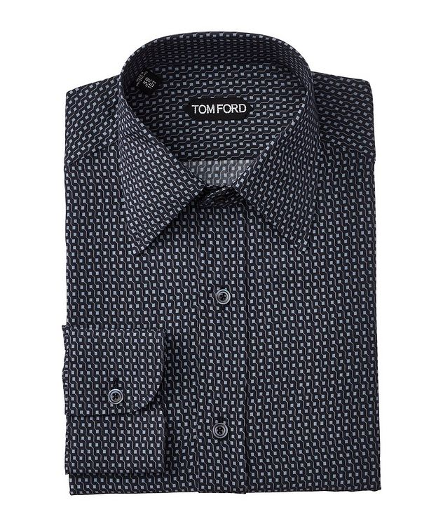 Printed Lyocell Dress Shirt picture 1