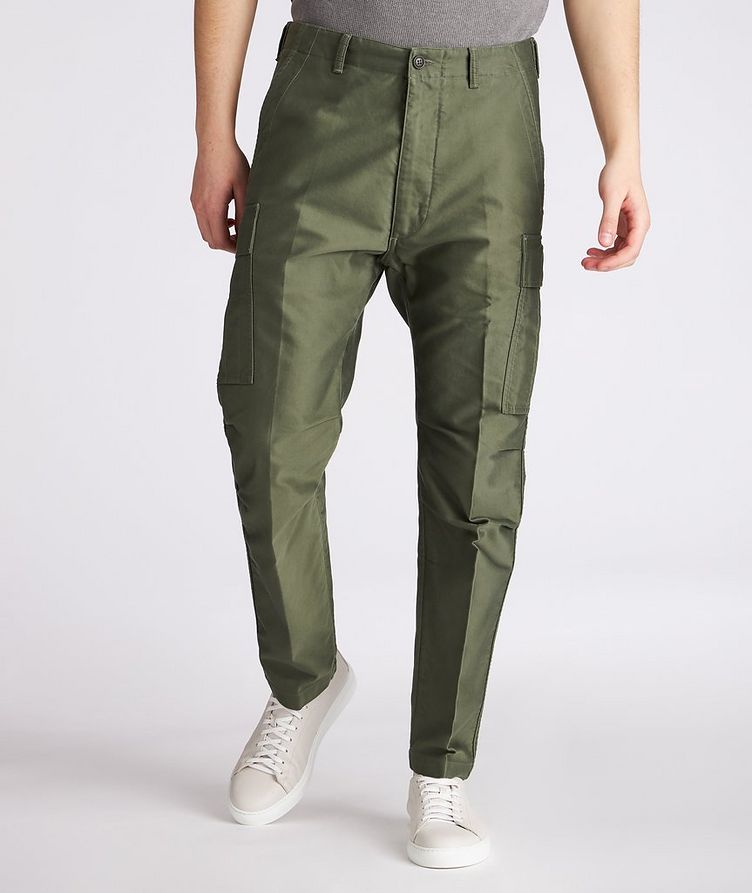 Military Cotton Cargo Pants image 1