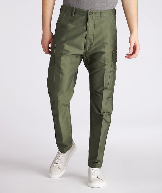 Military Cotton Cargo Pants picture 2