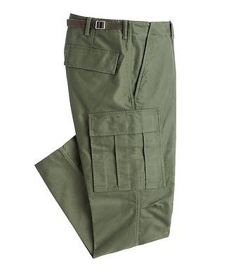 TOM FORD Pantalon de style militaire en coton à poches cargo