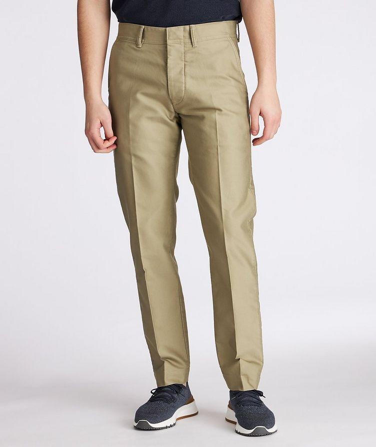 Military Cotton Chino Pants image 1