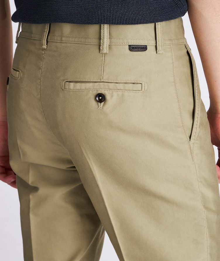 Military Cotton Chino Pants image 3