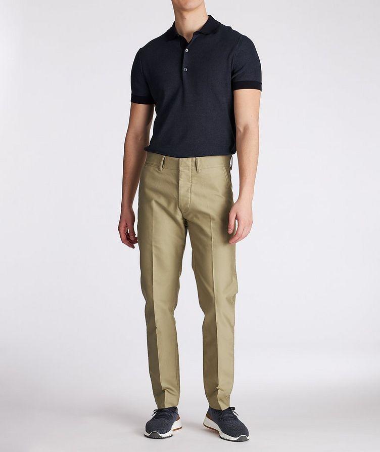 Military Cotton Chino Pants image 4