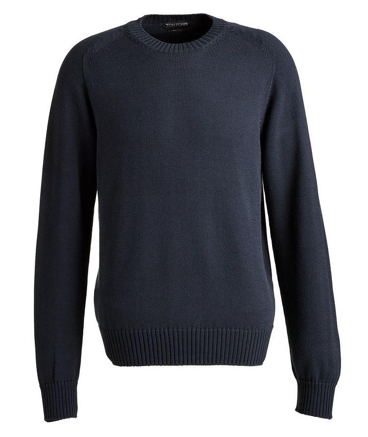 Cotton-Silk Sweater image 0