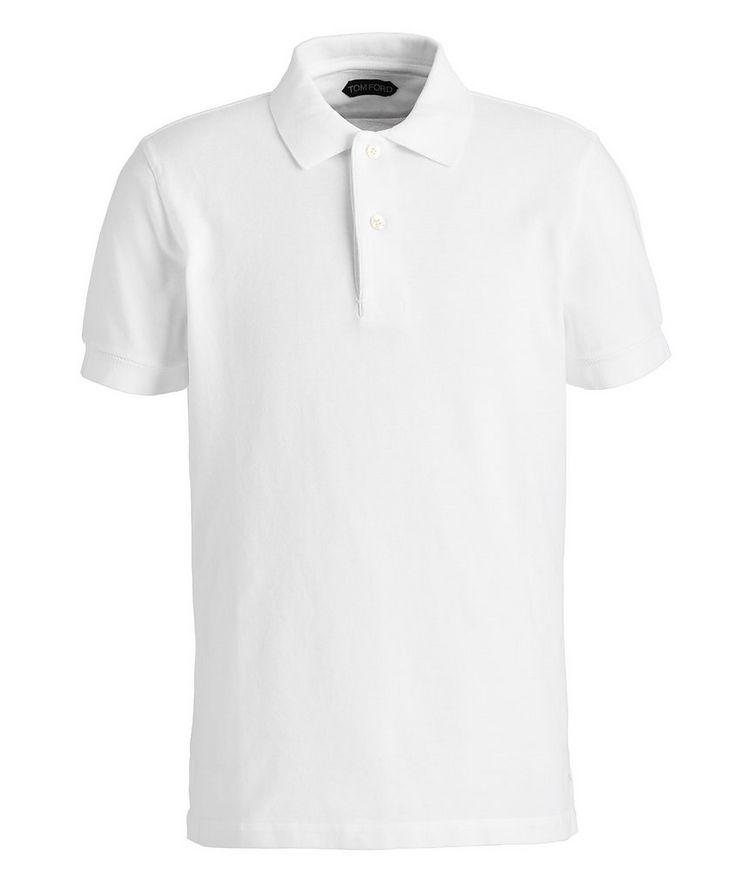 Cotton Pique Polo image 0