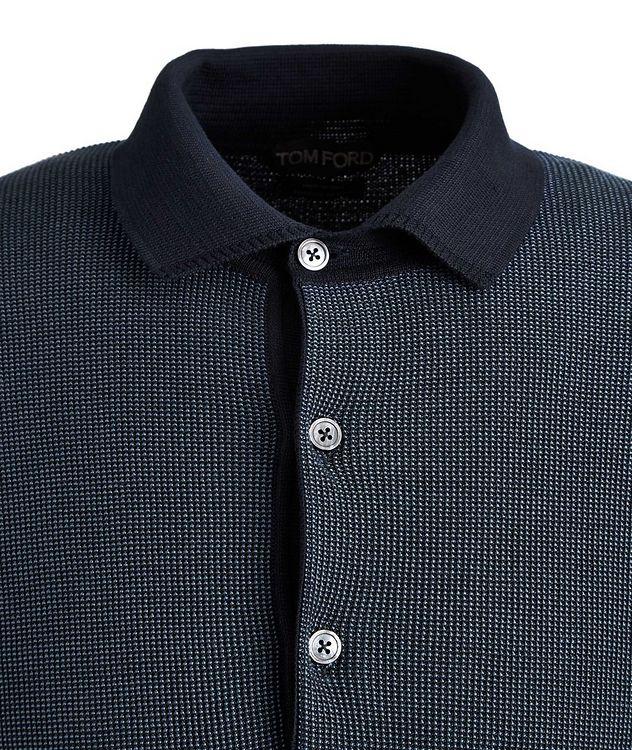 Knit Silk-Cotton Polo picture 2