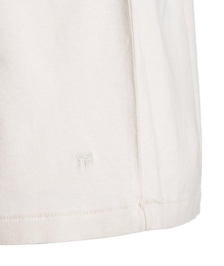 T-shirt en jersey de Lyocell et coton image 1
