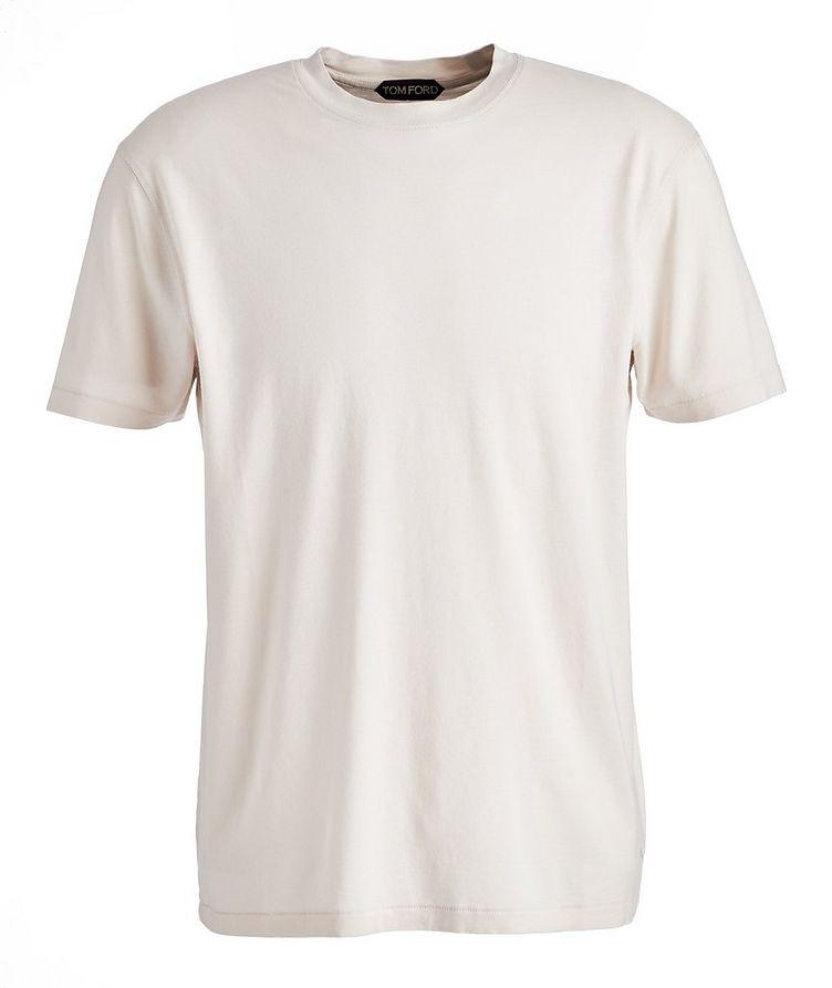 T-shirt en jersey de Lyocell et coton image 0