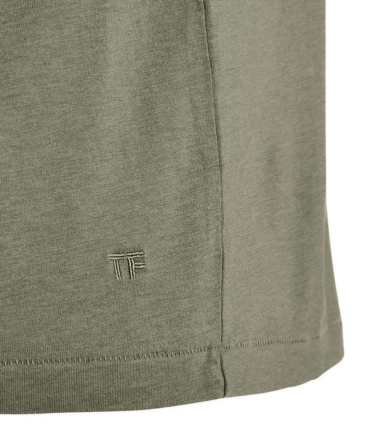 Lyocell-Cotton Jersey T-Shirt image 1