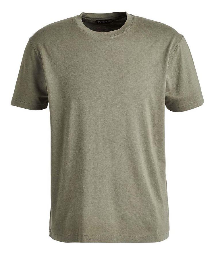 Lyocell-Cotton Jersey T-Shirt image 0