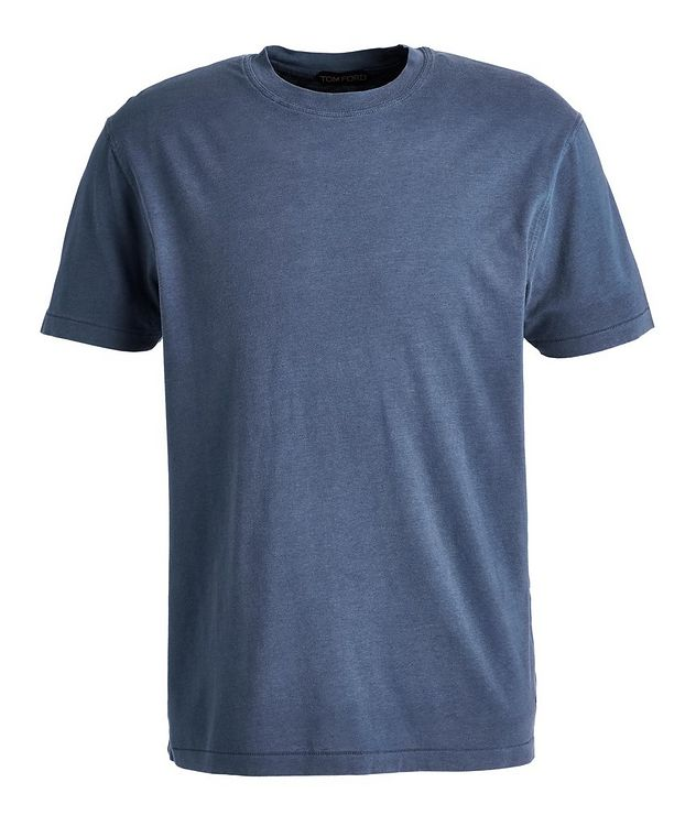 Lyocell-Cotton Jersey T-Shirt picture 1