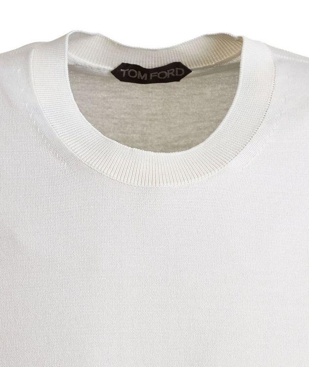 Silk-Cotton Knit T-Shirt picture 2