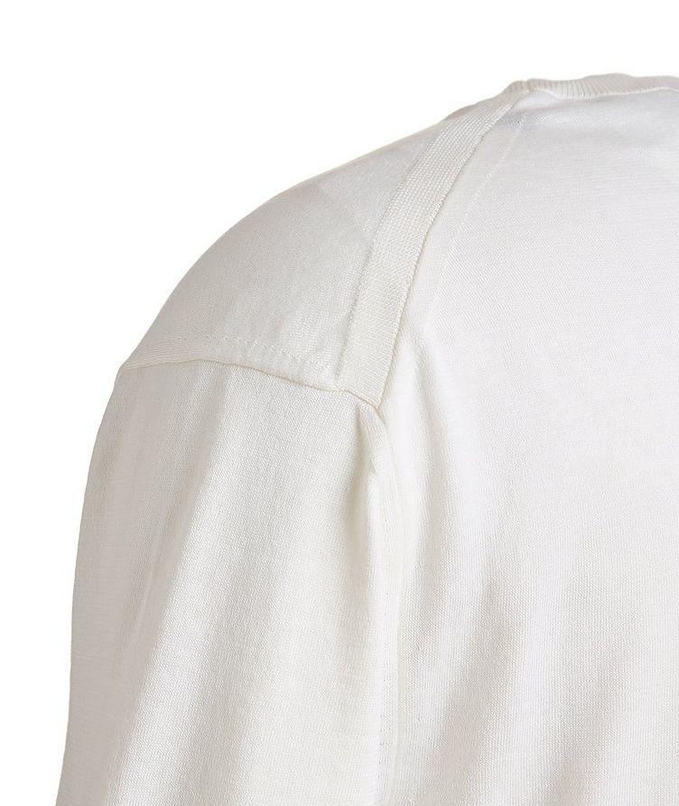 Silk-Cotton Knit T-Shirt image 2
