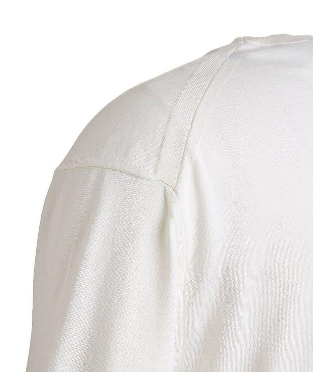 Silk-Cotton Knit T-Shirt picture 3