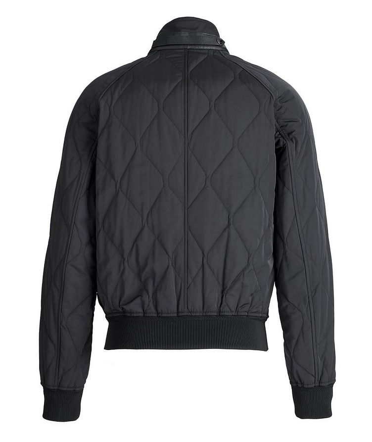 Quilted Bomber Jacket image 1