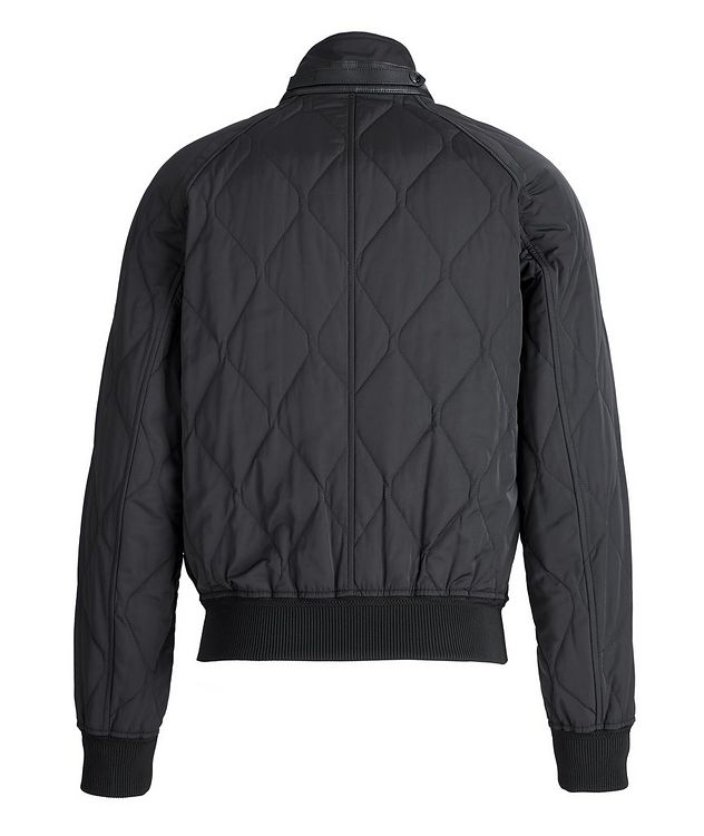 Quilted Bomber Jacket picture 2