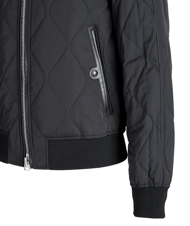 Quilted Bomber Jacket picture 4