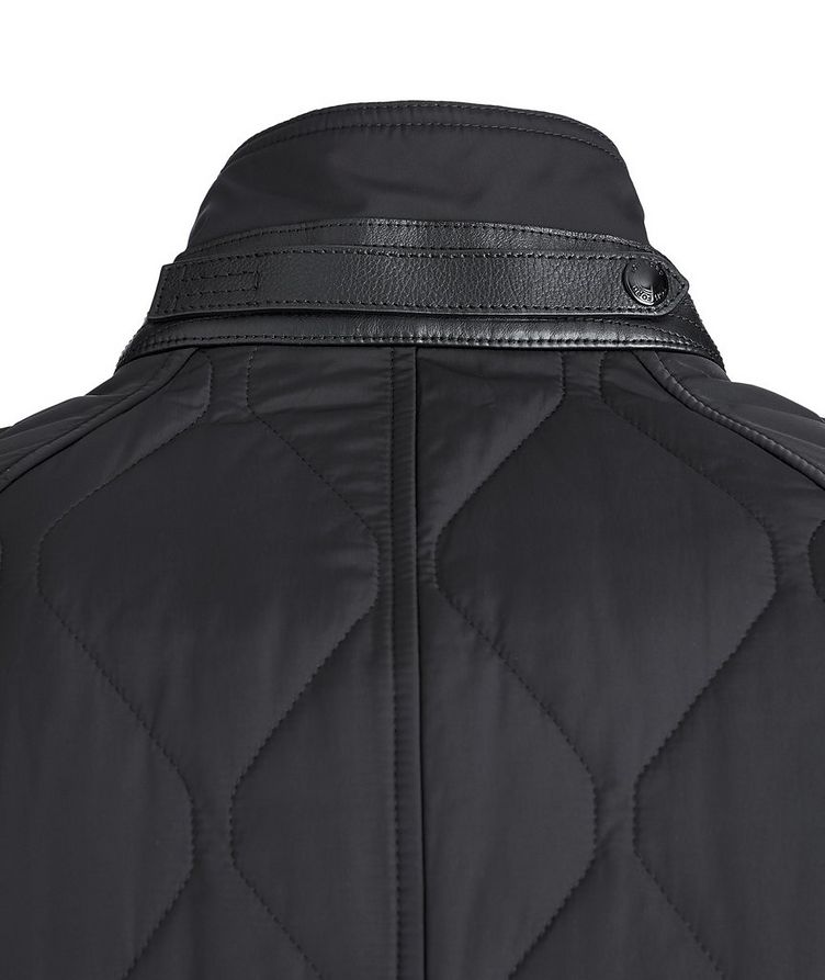 Quilted Bomber Jacket image 4