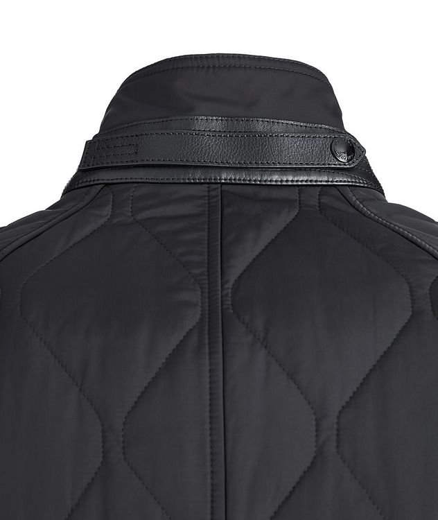 Quilted Bomber Jacket picture 5