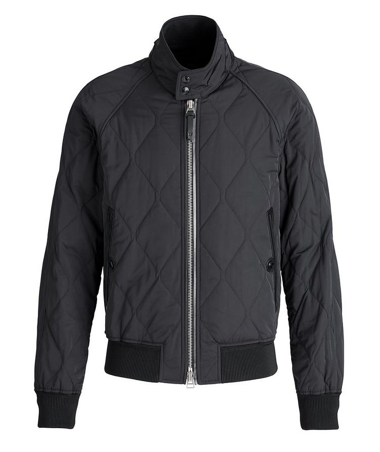 Quilted Bomber Jacket image 0