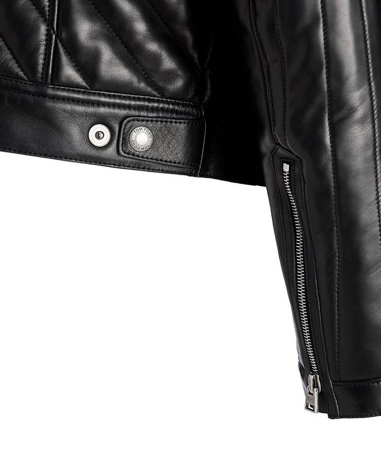 Quilted Lambskin Biker Jacket image 2